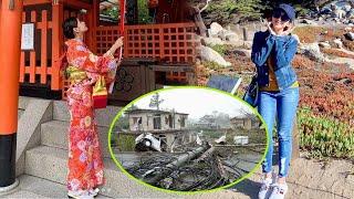 Đây là 2 sao Việt khiến fan hâm mộ lo lắng vì bị mắc kẹt tại Nhật Bản giữa siêu bão