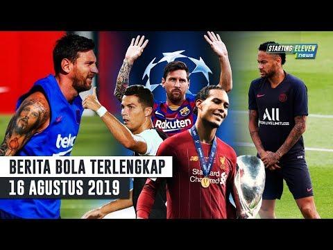 Kandidat Pemain Terbaik UEFA - Neymar Rela Potong Gaji Demi Barca - Messi Tak Main Dilaga Pertama