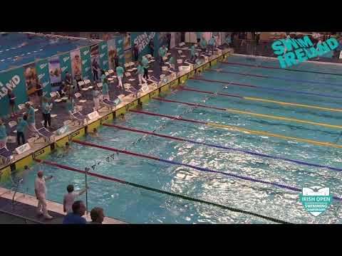 2018 Irish Open Championships - Male 50m Butterfly Open Final