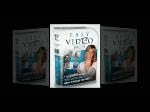 Video Marketing With A Simple One Click Solution | Create Easy Video Pages