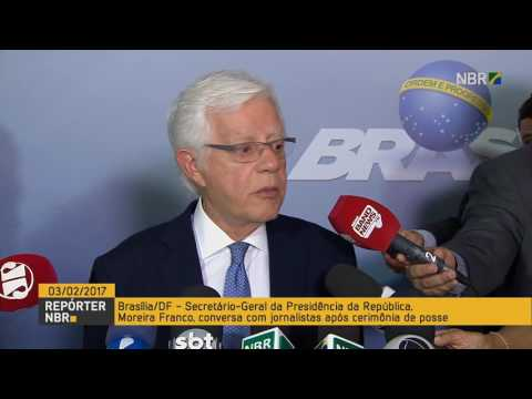 Moreira Franco toma posse na Secretaria-Geral da Presidência