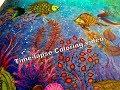 Secret River - Secret Garden Coloring Book - Time Lapse Coloring Video