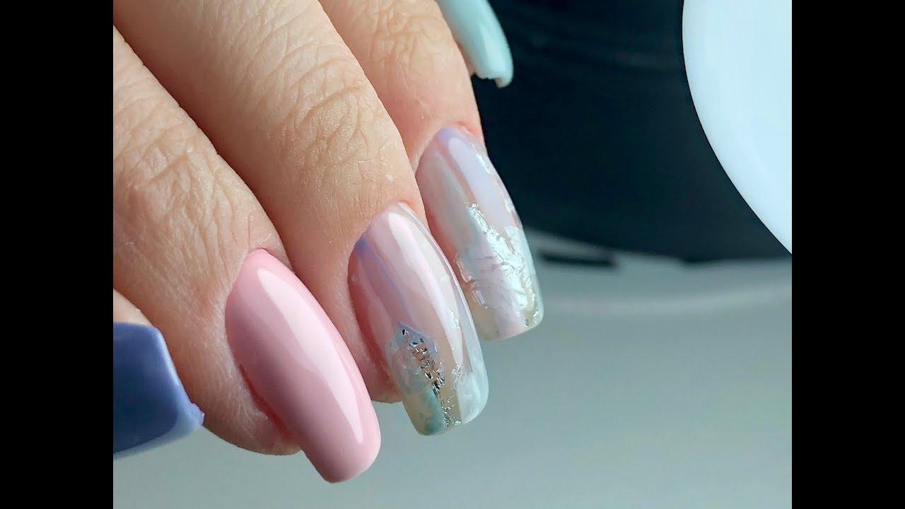 Популярный дизайн 24. Дизайн ногтей для начинающих. Весенний дизайн  ногтей 24