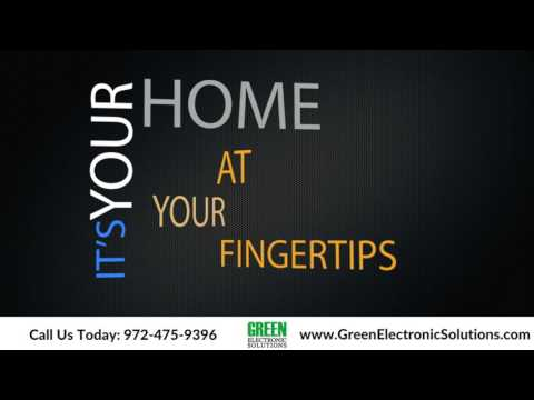 Home Automation, Security and more at your fingertips from Green Electronic Solutions