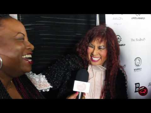 Cheryl Song (Original Soul Train Dancer) at T-Boz Unplugged Event