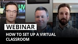 How to set up a virtual classroom
