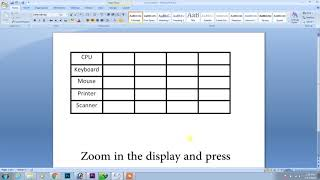 create table in adobe photoshop in 2 minutes