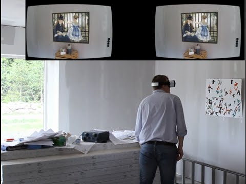 Mixed Reality Furniture Exploration Activity in house under construction