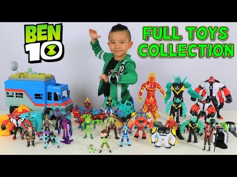FULL Ben 10 Toys Collection  2017 2018 Fun With Ckn Toys