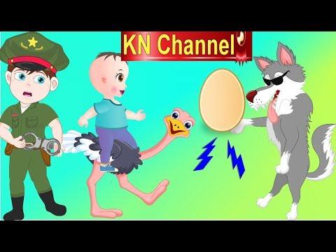 Hoạt hình KN Channel CHÓ SÓI ĂN TRỘM TRỨNG ĐÀ ĐIỂU VÀ CÁI KẾT....   GIÁO DỤC MẦM NON