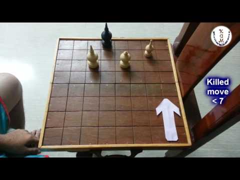 Cambodian Thai Chess 012 - in front of KOUL part 3 | Khmer OUK Makruk - Bishop kohn