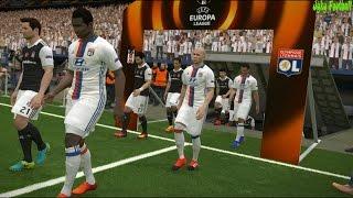 UEFA EUROPA LEAGUE 2016/17 | LYON VS BESIKTAS | Full Match | Pes 2017 Gameplay PC
