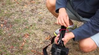 TAMRAC TR 404 ZIPSHOT mini Tripod(탐락 집샷미니트라이포트 삼각대)