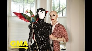 Drag queen Sasha Velour gets ready for Pride | GMA Digital