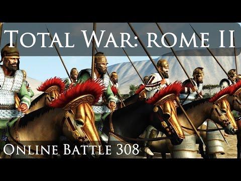 Total War Rome 2 Online Battle Video 308 Armenia Vs Rome