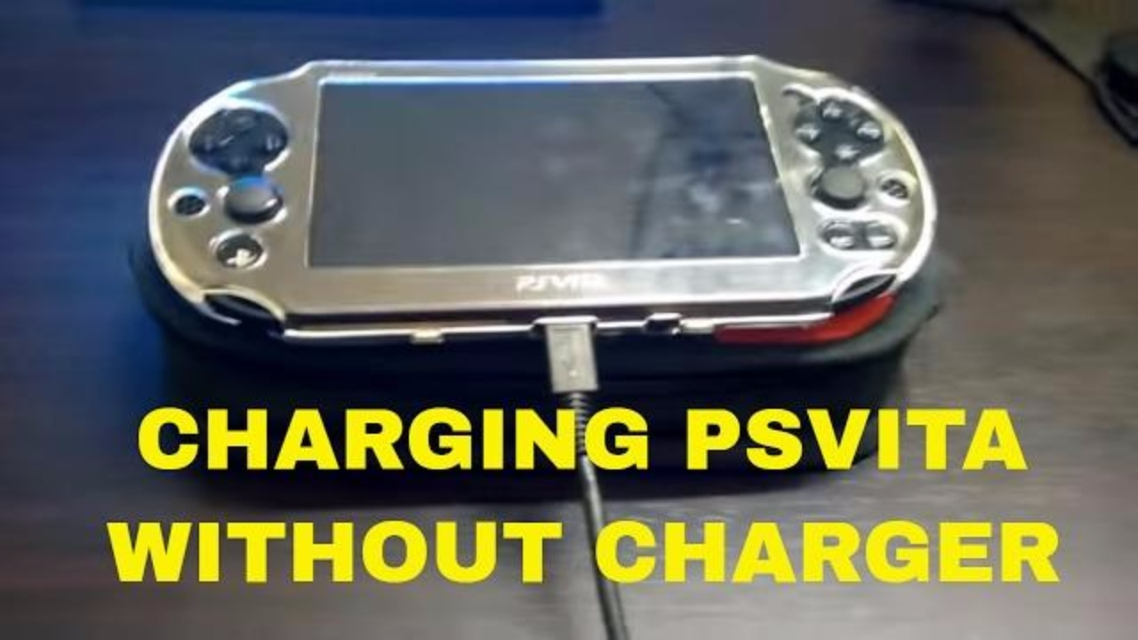 How To Charge Your Playstation Vita Without A Charger
