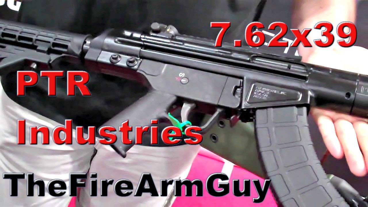 Ptr industries rifle in 762x39 shot show 2015 thefirearmguy ptr industries rifle in 762x39 shot show 2015 thefirearmguy youtube publicscrutiny Choice Image