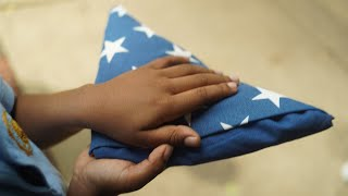 American Legion Family honors Old Glory
