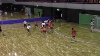 ハンドボール 全国高等学校選抜大会 明星対神戸国際附属(後半)