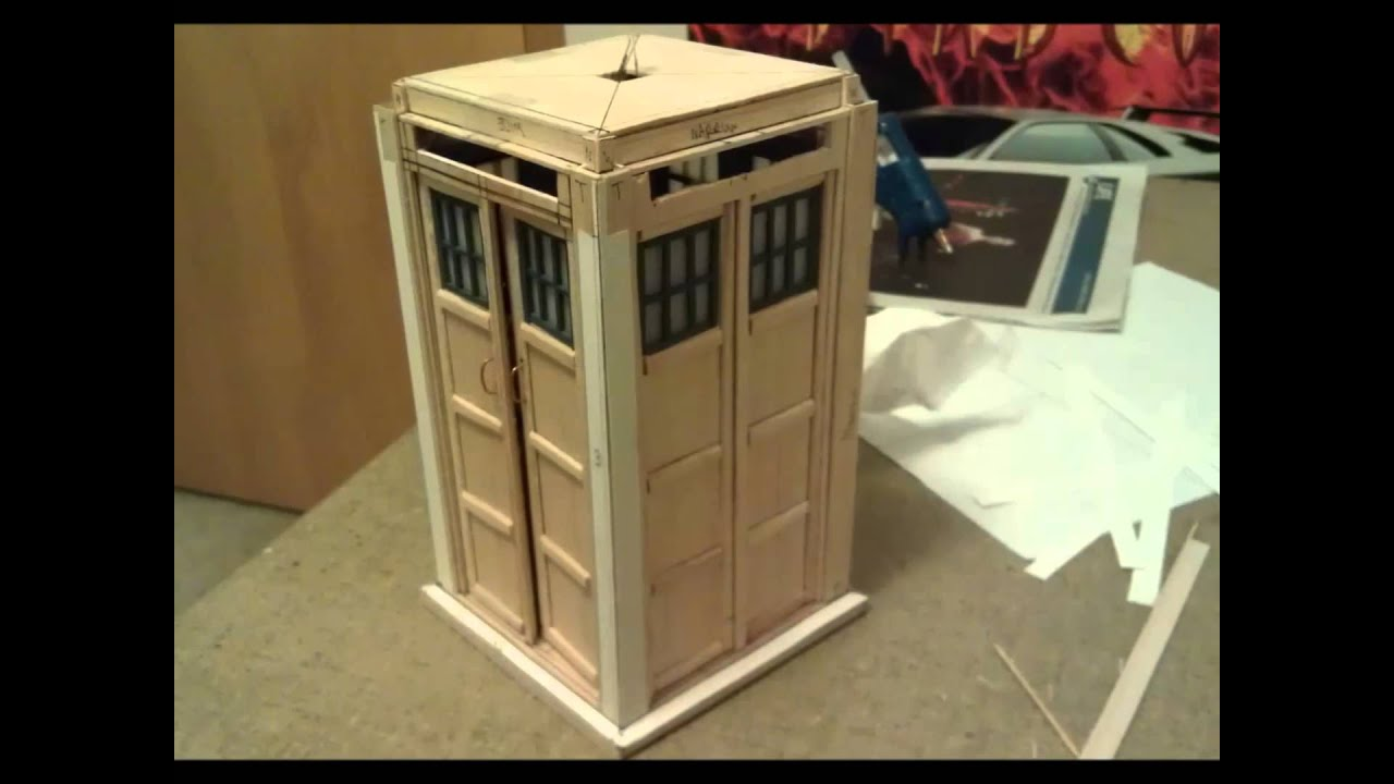Model Tardis Build Youtube