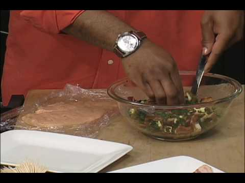 Wright Brand Bacon Byte with Aaron McCargo Jr. :Chicken Roulade