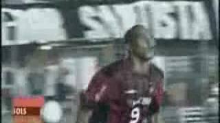 Santos 0 x 2 Atlético Libertadores 2005 Quartas de Final