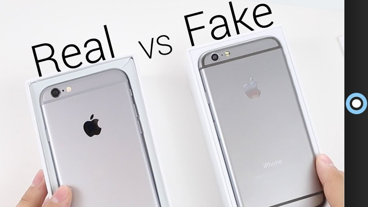92cdc42760b Fake vs Real iPhone 6! - YouTube