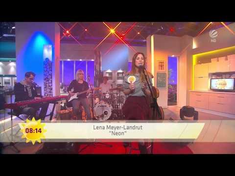 Lena Meyer-Landrut - Neon (Lonely People) - LIVE im Sat.1 Frühstücksfernsehen