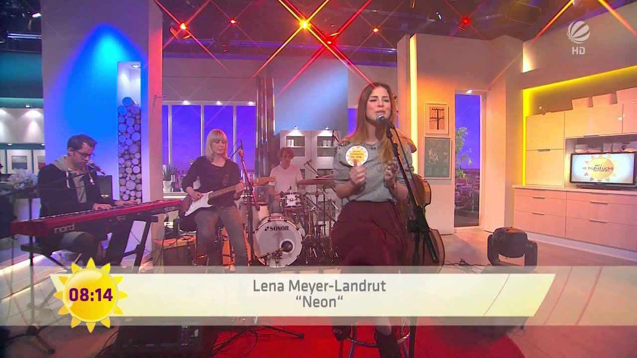 Lena Meyer-Landrut - Neon (Lonely People) - LIVE im Sat.1 ...