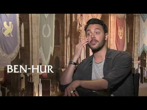 Ben Hur Star Jack Huston on his guilty pleasure