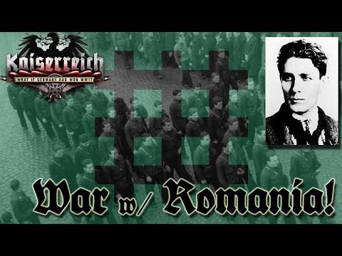 Hearts of Iron IV Kaiserreich - Germany 29 War with Iron Guard Romania
