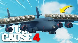 Just Cause 4 - NUKE LAUNCHER CARGO PLANE!