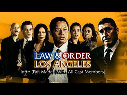 Download Law & Order: Los Angeles Intro (Fan Made) (With All Cast Members)