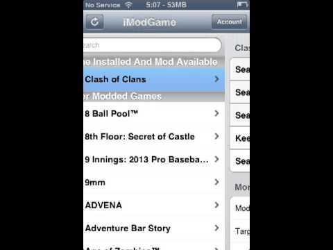 Clash Of Clans Hack - Cydia