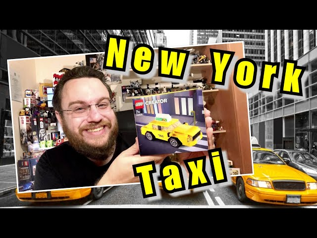 New York Taxi - Yellow Cab (Lego Creator 40468)