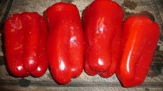 Juicing  How To Juice Red Bell Peppers  Antioxidants  Flavonoids Phytonutrients Healthy Hair &  Skin Thumbnail
