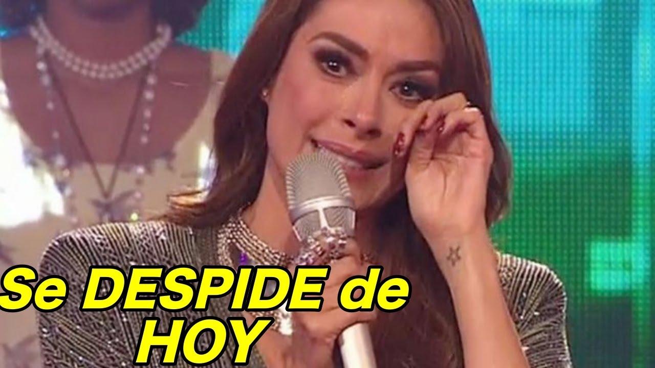 Galilea montijo despedida del programa hoy sale por puerta for Noticias del espectaculo mexicano de hoy
