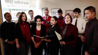 Hark The Herald Angels Sing - Boston Accent A Cappella 12/11/11
