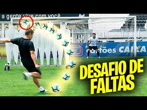 DESAFIO DE FALTA PROFISSIONAL NO ESTÁDIO!!! (OS CHUTES DO COACH É DE OUTRO MUNDO)