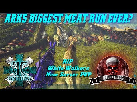 """UC as Relentless """"ARKS BIGGEST MEAT RUN EVER?"""" Merry Xmas WW Alliance!"""