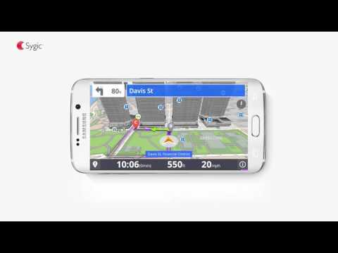 Sygic GPS Navigation for Android - Live Parking Service