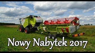 Żniwa 2017 - Nowy Nabytek - Claas Tucano 440 - TeamMichalski!