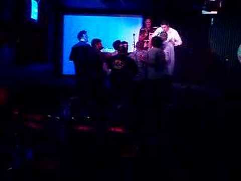 Drunken American Rugby Team In A Canadian Karaoke Bar