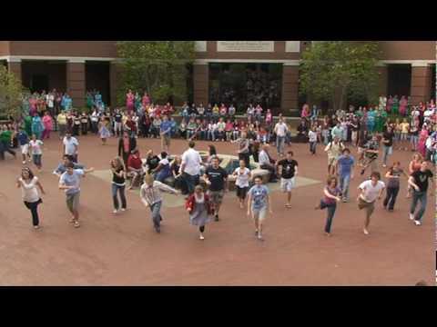Harding Univ Do.Re.Mi Flash Mob 4.2.2010