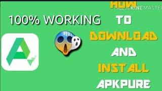 how-to-download-apkpure-app