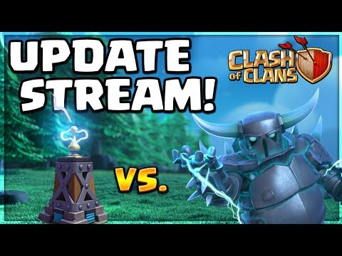 Clash of Clans UPDATE - Builder Hall 8 Friendly Challenge PARTY Live!