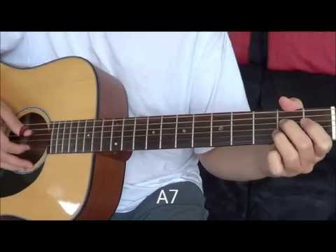 Grow Old With You By Adam Sandler Fingerstyle Guitar Tutorial