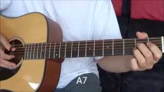 "Guitar Tutorial: ""Grow Old with You"" by Adam Sandler Cover Fingerstyle Tutorial"