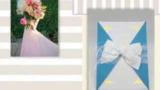 Пригласительные на свадьбу Gilliann Elizabeth INV041
