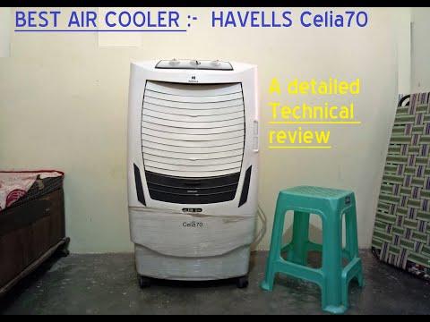Review of Havells air cooler, Model - Celia 70